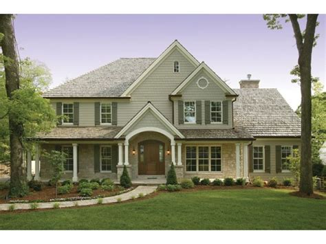 eplans country house plan subtle craftsman influence