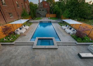 contemporary pools backyard with everything contemporary pool toronto