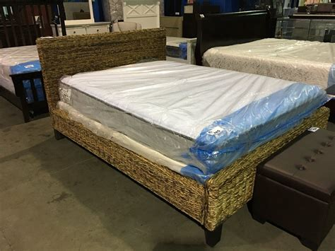 queen size bed board queen sized rattan bed head board foot board rails
