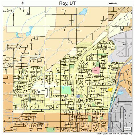map of utah detailed road map of the state of utah roy utah street map 4965110