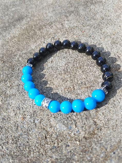 carolina bead shop carolina panthers bead bracelet