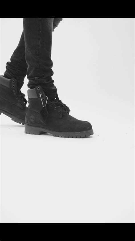 all black outfit with timberland boots   StartOrganic