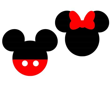 Mickey Minnie Bow by Minnie Mouse Bow Silhouette At Getdrawings Free For