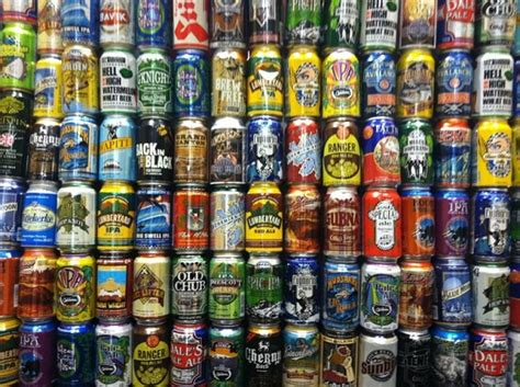 beer can it s can demonium the wild proliferation of craft beer in