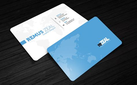 templates for business cards photoshop rezeal free corporate business card photoshop template