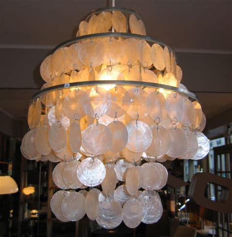 lustre nacre lustre en nacre 1960 photo de 4 le luminaire kopf