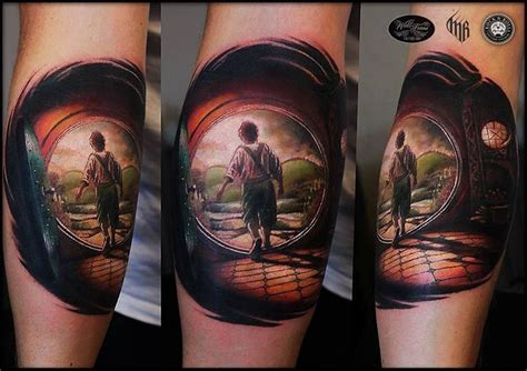 house of hobbit tattoo best tattoo ideas gallery