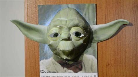 Yoda Papercraft - hd yoda papercraft 3d nikon d3100