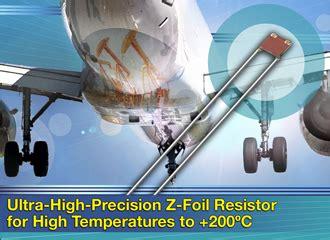 high precision foil resistor vishay precision vpg news from automotive