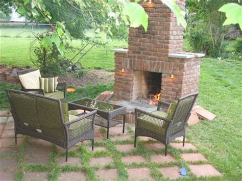 25 best ideas about diy outdoor fireplace on