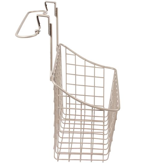 Cabinet Door Storage Basket Cabinet Door Basket With Towel Rail In Cabinet Door Organizers