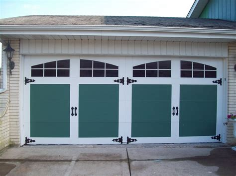 faux painted garage doors remodelaholic 8 diy garage door updates