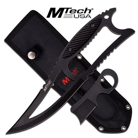 fixed blade razor mtech usa 10 inch tactical fixed blade knife and mini