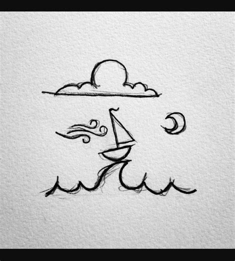 boat drawing cute pin by erika hernandez on journal ideas pinterest