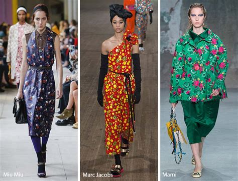 10 Vintage Styles For Sping by Summer 2018 Print Trends Glowsly