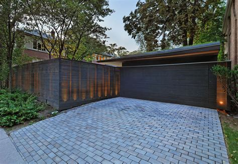 garage driveway design awesome shadow box fence cost decorating ideas images in garage and shed modern design ideas
