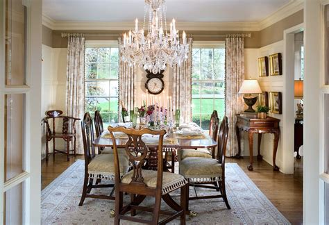 Glass Chandeliers For Dining Room Rustic Dining Room Chandeliers Dining Room Traditional With Wood Flooring Table Setting Neutral