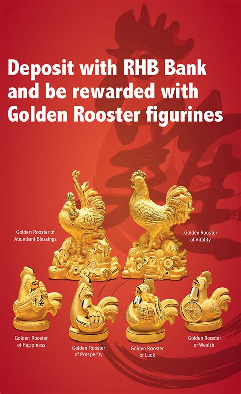 bank of china new year promotion rhb bank golden roosters of fortune caign loopme malaysia