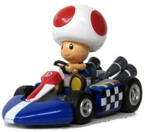 Mario Kart Figure Princess Car nintendo mario kart wii pull back car version 2 mini figure 3 quot toad japanese import by