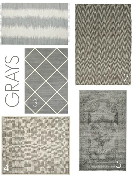 choosing a basement area rug