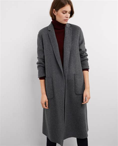 manteau oversize avec grey bille