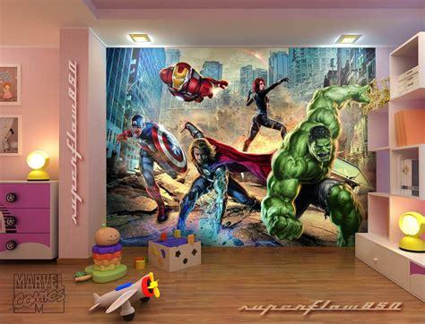 children es wall karten room ideas marvel comics fighting