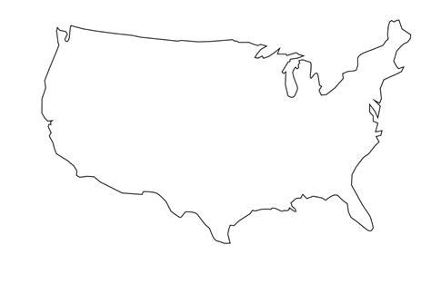 Faire Un Mba En Gratuit Aux Etats Unis by Carte Vierge Etats Unis
