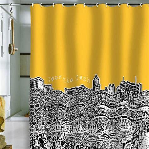 yellow print shower curtain 10 yellow shower curtain designs rilane