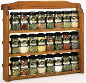 Spice Racks With Spices Included Tour De Spice Rack