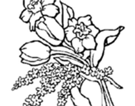 mazzi di fiori da colorare disegni di mazzi di fiori da colorare acolore