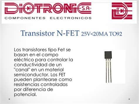 transistor fet tipo n transistor tipo fet 2n3819 28 images transistores 2n3819 n channel fet transistores
