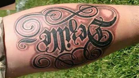 imagenes de letras musicales para tatuar fotos de tatuajes letras cursivas con respecto a estudios