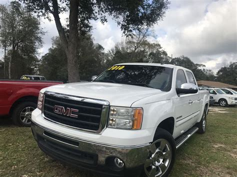 Sle Sales by 2010 Gmc 1500 Crew Cab Sle For Sale Used Cars On