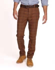 Brown eaton mens trousers joules uk