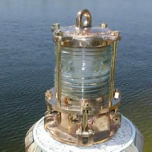 Ship Lighting Fixtures Nautical Bronze Piling Post Nautical Dock Light Marine Ship Lights