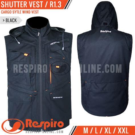 Vest Rompi Wanita Black Vest M 346102 rompi respiro shutter vest r1 3