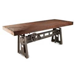 Dining Tables Gerrit Industrial Style Rustic Pine Iron Dining Table » Home Design 2017