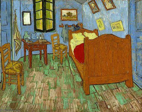 Tableau De Gogh La Chambre by La Chambre 1889 De Vincent Gogh 1853 1890 Netherlands