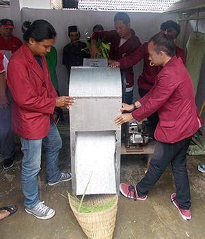Mesin Pencacah Rumput Surabaya teknik mesin untag surabaya