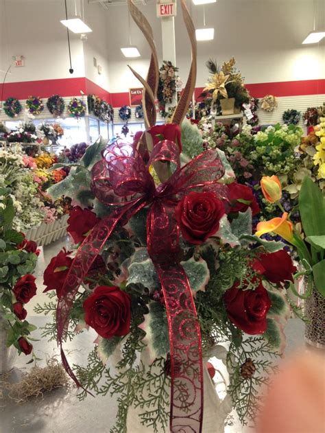 custom cemetery cone  florals atmichaels store