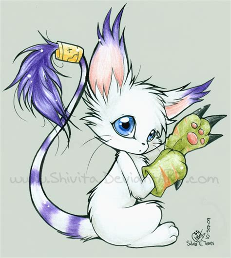 discord digimon links gatomon by shivita on deviantart