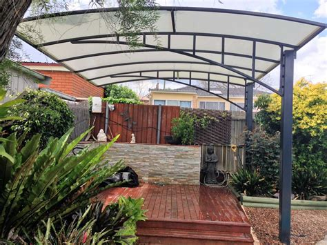 Awning Roof Cantilever Structures Pioneer Shade Structures