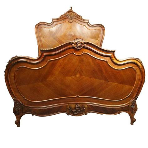 Rococo Bed Frame Antique Rococo Style Carved Mahogany And Kingwood