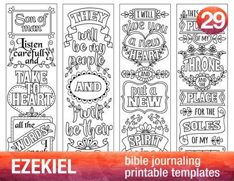 bible journaling templates ezekiel 4 bible journaling printable templates illustrated