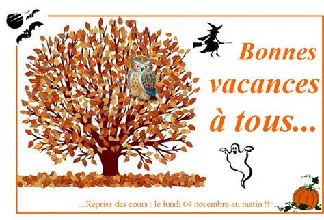Vacances Toussaint Vacances Toussaint