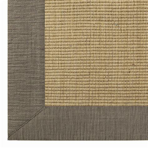 10 square wool sissal rug sisal rug with grey border uniquely modern rugs