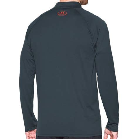 Best Seller Kaos Running Armour Premium 1 armour ua mens sleeve 1 4 zip tech workout