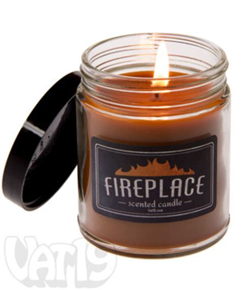 fireplace jar candle 6 5 oz