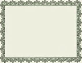 blank certificate template free 4 best images of printable of blank certificate borders