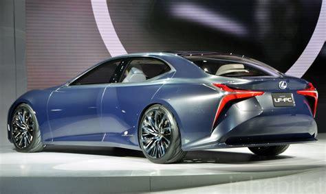 lexus lf fc the lexus lf fc is a hydrogen powered future machine